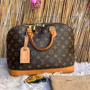 🌸Auth Louis Vuitton Alma handbag 🌸
